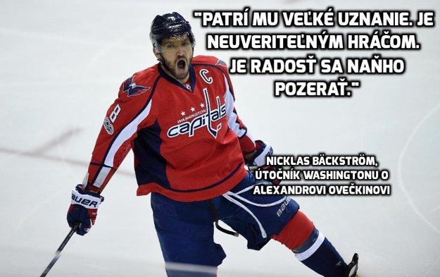 Alexander Ovečkin má v NHL na konte už viac ako tisíc bodov.