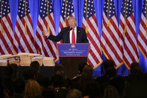 Kroky Donalda Trumpa budú mať vplyv na celý svet.