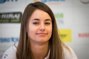 Zuzanu Stromkovú čakajú prvé preteky v disciplíne, v ktorej sa chce dostať na olympijské hry.
