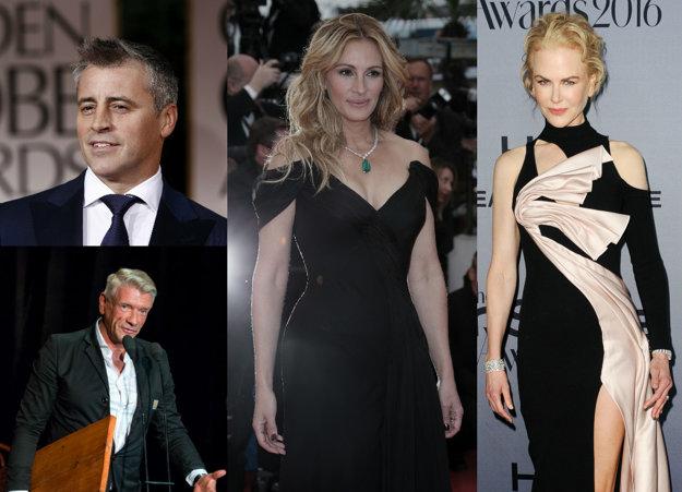 Matt LeBlanc, Richard Stanke, Nicole Kidman, Julia Roberts