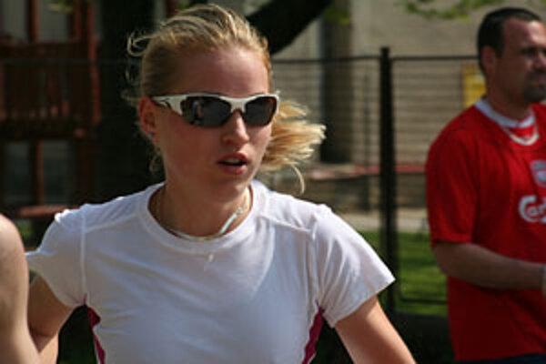 Petra Fašungová už má tento rok tri medaily z majstrovstiev Slovenska.