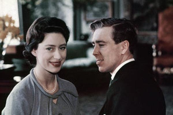 Lord Snowdon s bývalou manželku Margarétou.