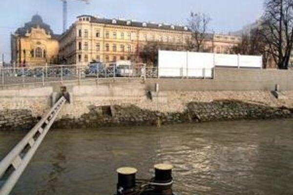 Protipovodňová ochrana v Bratislave.