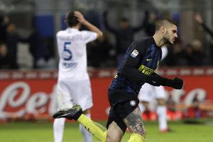 Obrat v Miláne začal svojím gólom Mauro Icardi.