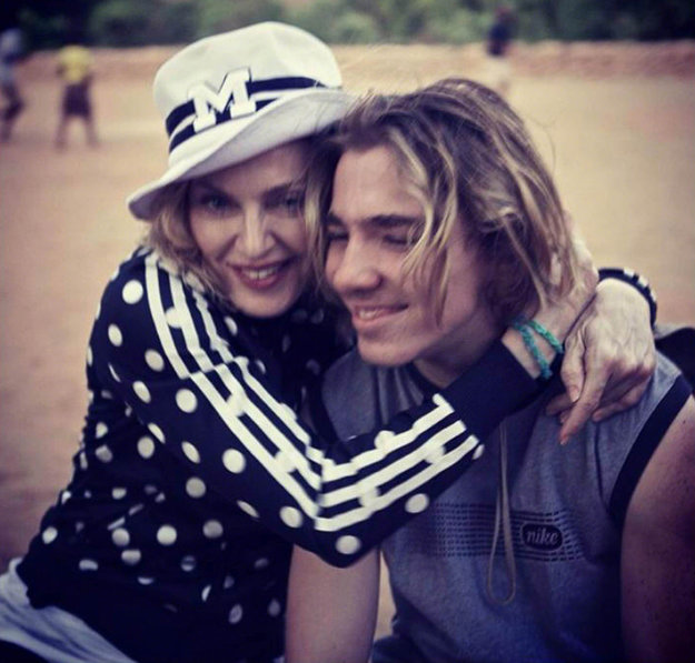 Madonna a Rocco. Speváčka ho má s Guyom Ritchiem.