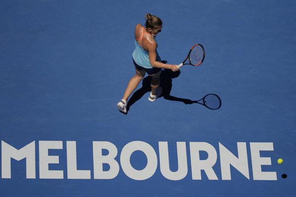 Rumunská tenistka Simona Halepová sa s účinkovaním na grandslamovom turnaji Australian Open v Melbourne rozlúčila už v 1. kole dvojhry.