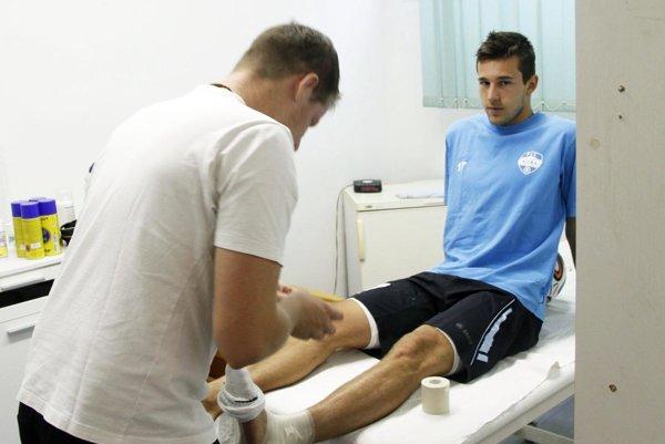 Odchovanec FC Nitra Marek Dubeň je na skúške v druholigovej Seredi.