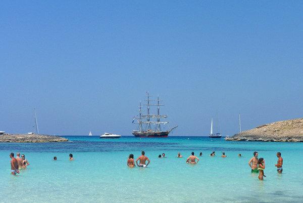 Najkrajšie pláže Baleárskych ostrovov.