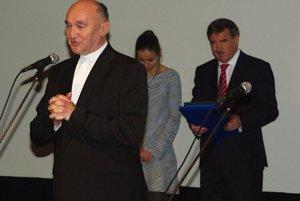 Ocenený Ladislav Ostrák.