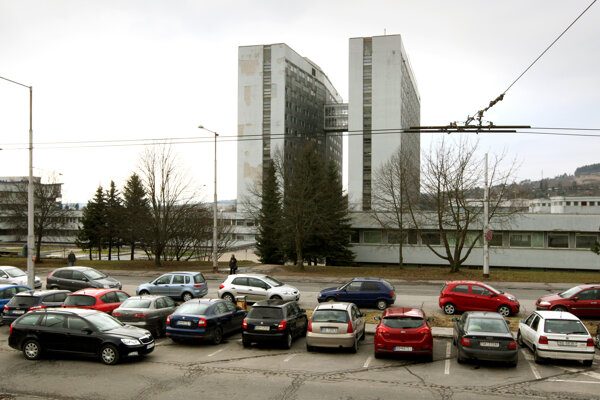 Nemocnica v Banskej Bystrici.
