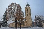 Liptovský Mikuláš v zime.