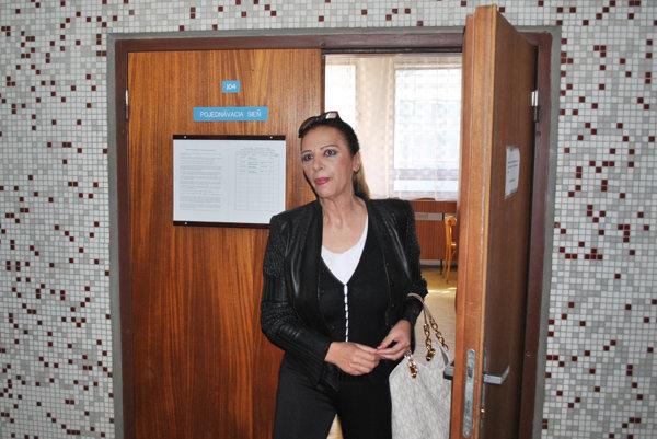 Nora Mojsejová Kabrheľová.
