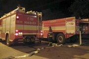 Pre únik amoniaku hasiči zasahovali v Beluši aj v septembri.