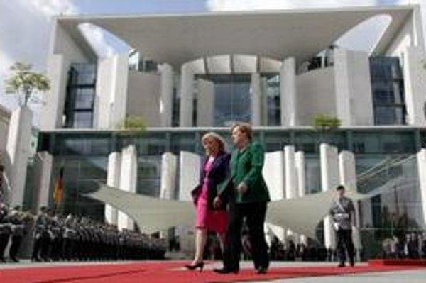Radičová si pochvaľuje spoluprácu s Merkelovou.