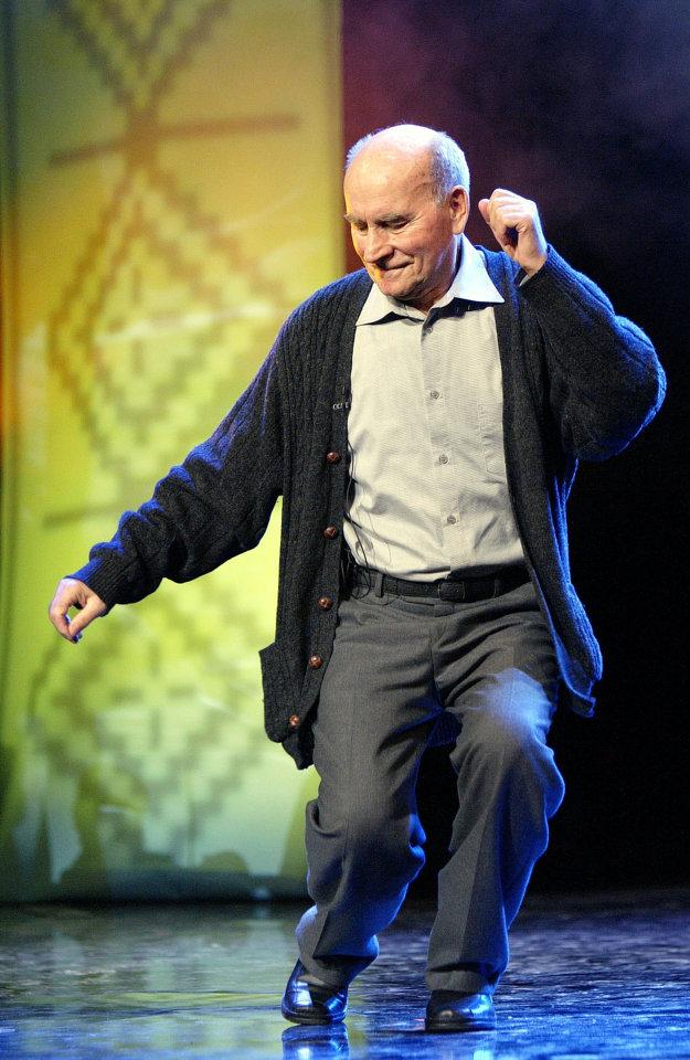 Tanec je jeho život. Štefan Nosáľ si vie zakrepčiť aj v požehnanom veku.