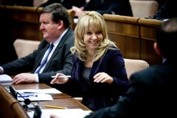 Katarína Cibulková je spokojná.