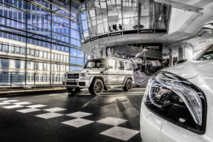 Mercedes AMG Performance Center Berlín