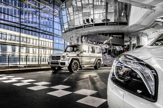Mercedes AMG Performance Center Berlín