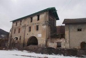 Budova starého hámru.