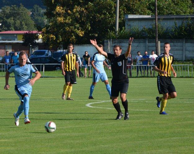 Marián Otiepka rozhodoval počas jesennej časti 2016/2017 aj pohárový zápas Šimonovany – Inter Bratislava.