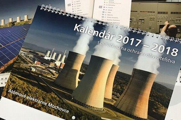 Kalendár dostali ľudia v okolí Jaslovských Bohuníc i Mochoviec.