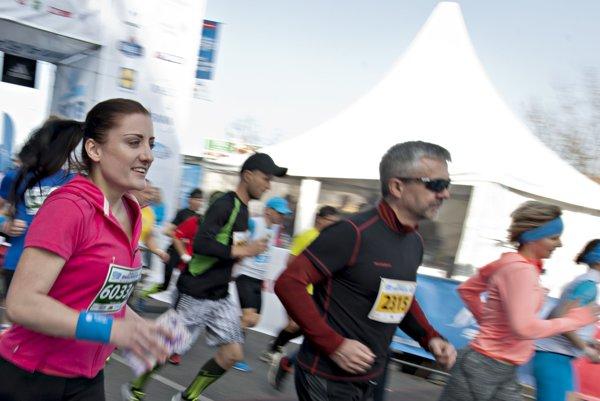 Minulý ročník bratislavského ČSOB maratónu.