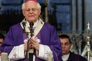 Bývalý arcibiskup Ján Sokol.