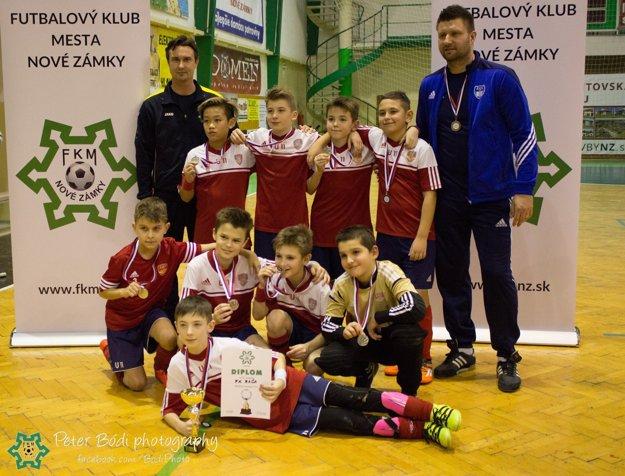Druhé miesto obsadili chlapci z FK Rača