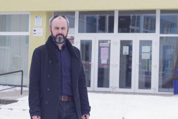 Ondrej Gažo, učiteľ informatiky z Martina.