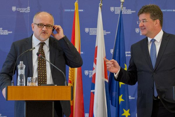 Na oficiálnu návštevu Slovenskej republiky minister zahraničných vecí Čiernej Hory Srdjan Darmanovič.