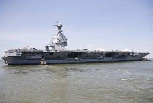 Lietadlová loď USS Gerald R. Ford.