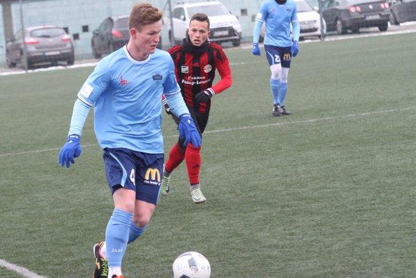 Samuel Ďurek centroval na oba góly svojho mužstva.