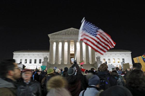 Sídlo Najvyššieho súdu Spojených štátov vo Washingtone.