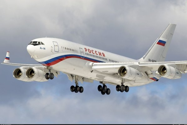 Lietadlo Iljušin Il-96-300.
