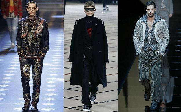 Dolce&Gabbana, Christian Dior, Giorgio Armani