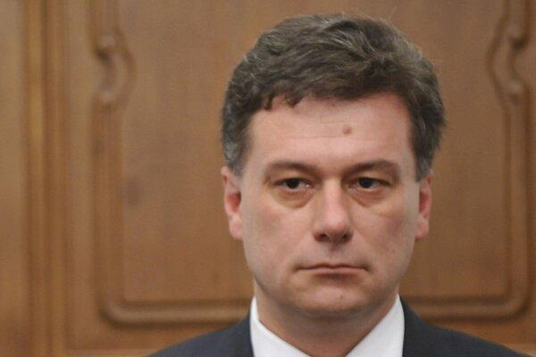 Predseda Poslaneckej snemovne Pavel Blažek.