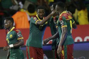 Kamerun oslavuje postup do finále Afrického pohára národov.
