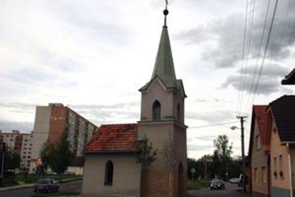 Kaplnka v prievidzskej časti Necpaly.