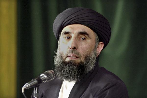 Bývalý vodca afganských mudžahedínov Gulbuddín Hekmatjár.