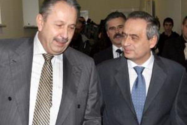 Ladislav Rehák (vľavo) a Ernest Valko.