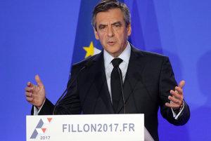 Francúzsky konzervatívny kandidát na prezidenta Francois Fillon.