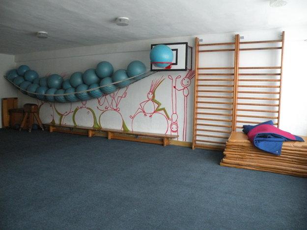 Základná škola Sládkovičova má k dispozícii okrem klasickej veľkej telocvične aj menšiu. Žiakom poslúžila aj počas rekonštrukcie podlahy.