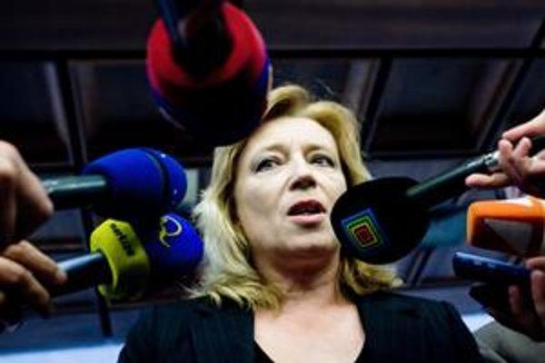 Iveta Radičová sa včera lúčila s parlamentom, nie s politickým životom