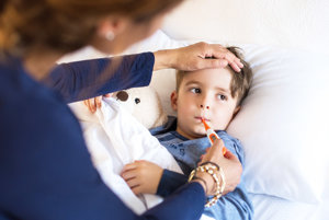 Choré deti patria do postele, nie do škôlky.