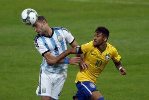 Derby medzi Argentínou a Brazíliou privítajú v Austrálii.