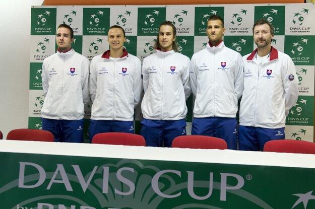 Zľava Andrej Martin a Jozef Kovalík boli súčasťou tímu, ktorý prehral s Maďarskom.