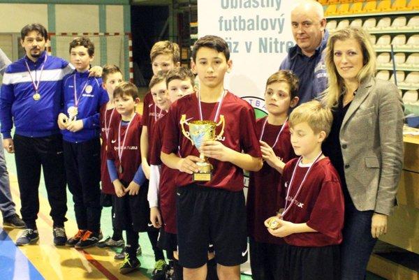 Chlapci z Výčap-Opatoviec sa stali víťazmi turnaja mladších žiakov LAMA SK Cup.