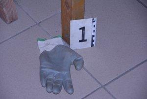 DNA z tejto rukavice muža usvedčilo.