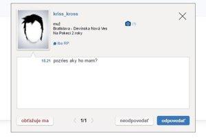 Na sociálnej sieti Pokec sme si aktivovali vymyslený profil 12-ročného anonymného dievčaťa z Bratislavy. Ozývali sa mu čudní ľudia.