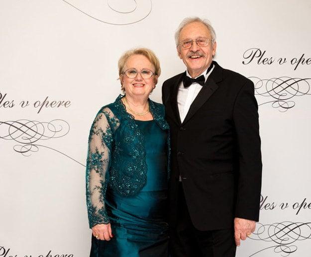 František Kovár s manželkou Danielou.